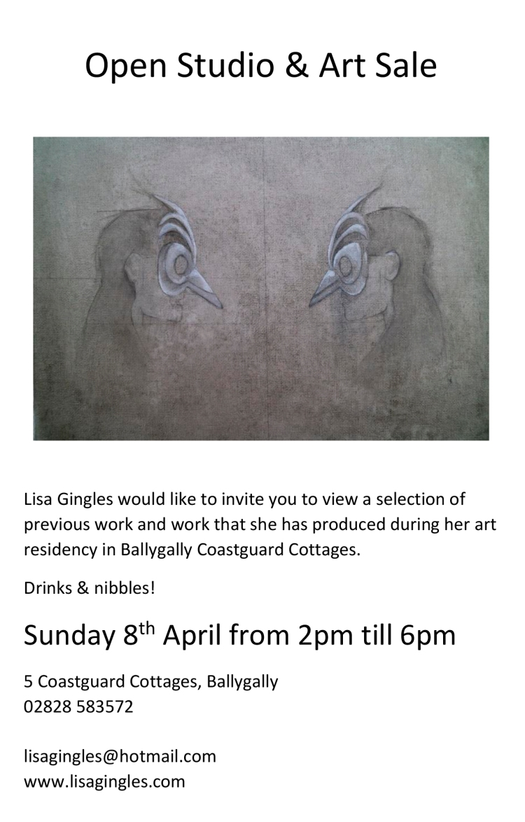 Open Studio Ballygally Invitation jpeg